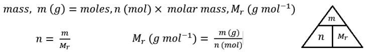 mass equation