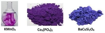 inorganic purples