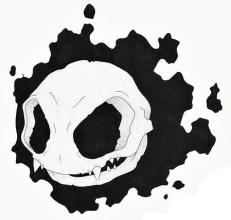skeleton gastly